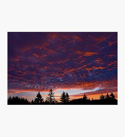 New Year Sunset Photographic Print