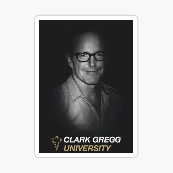 Clark Gregg University Fanart Sticker
