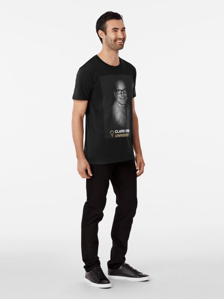 Alternate view of Clark Gregg University Fanart Premium T-Shirt