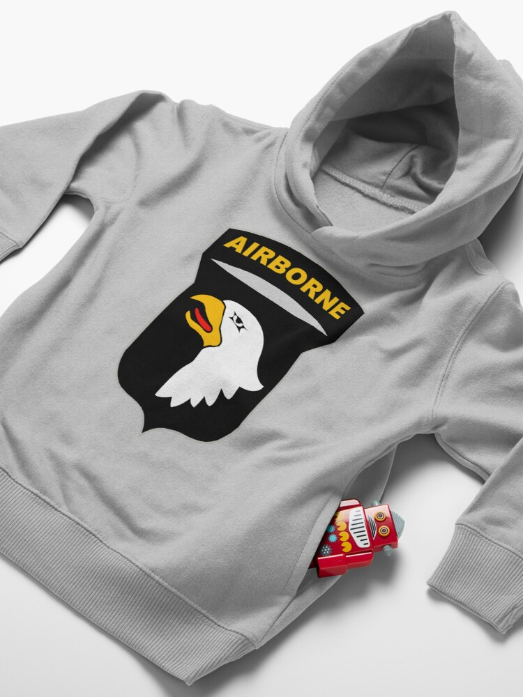 Alternate view of 101st Airborne Insignia Toddler Pullover Hoodie