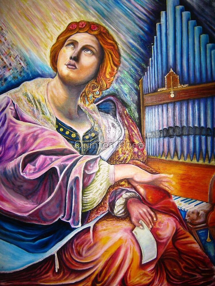 My Saint Cecilia  by Quinten Rhea