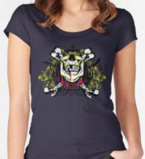 Zombie shield 1 Women's Fitted Scoop T-Shirt