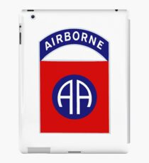 82nd Airborne Division - The All Americans Insignia iPad Case/Skin
