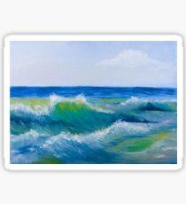 Sea waves  Sticker