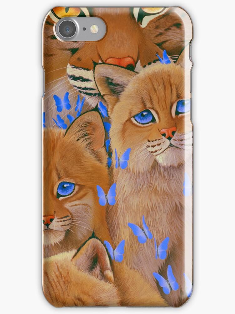 Bobcat Kittens2 by Graeme  Stevenson