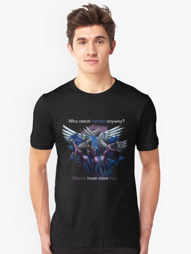 Shadowbolts Shirt Unisex T-Shirt Front