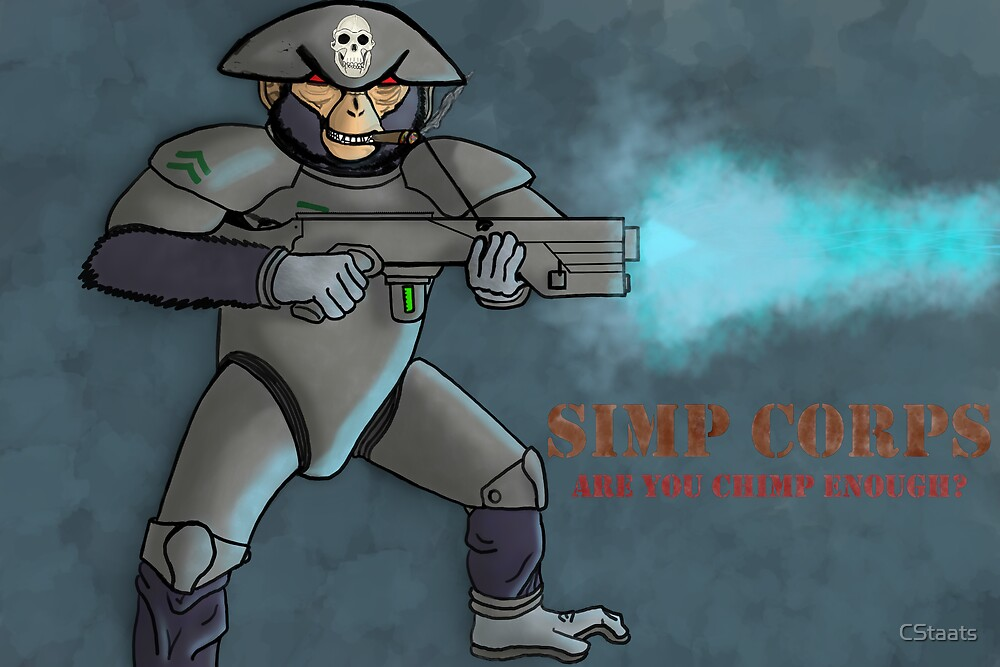 Simp Corps Recruitment Poster by CStaats