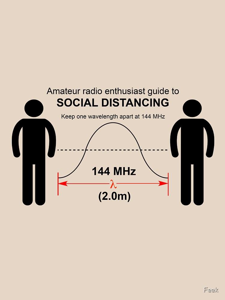 Amateur radio Social Distancing by Feek