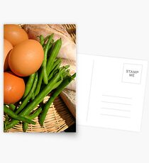 Country Basket Postcards