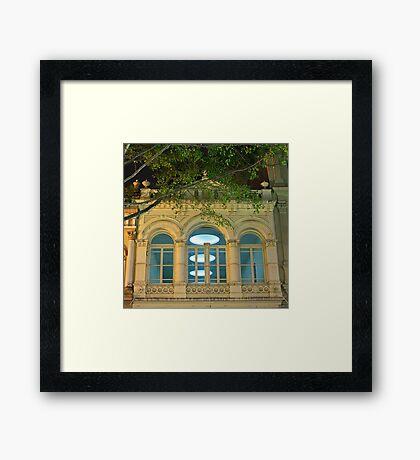 Fancy Facade Framed Print