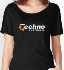 TECHNO Australia Women's Relaxed Fit T-Shirt