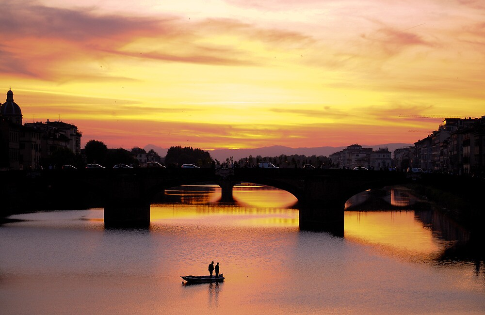 Beautiful Evening at Florence, Italy by Neha Singh
