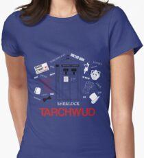 TARCHWUD TEE Womens Fitted T-Shirt