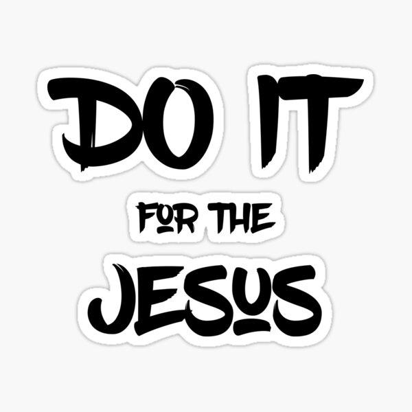 Kim's Convenience - Do it for the Jesus Sticker