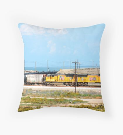 The winding road... Throw Pillow