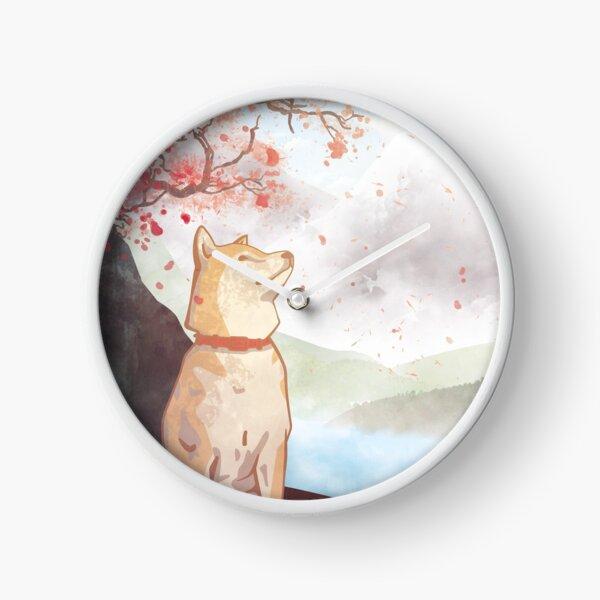 Shiba Inu Clock
