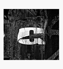 Lámina fotográfica The Letter C in Black and White