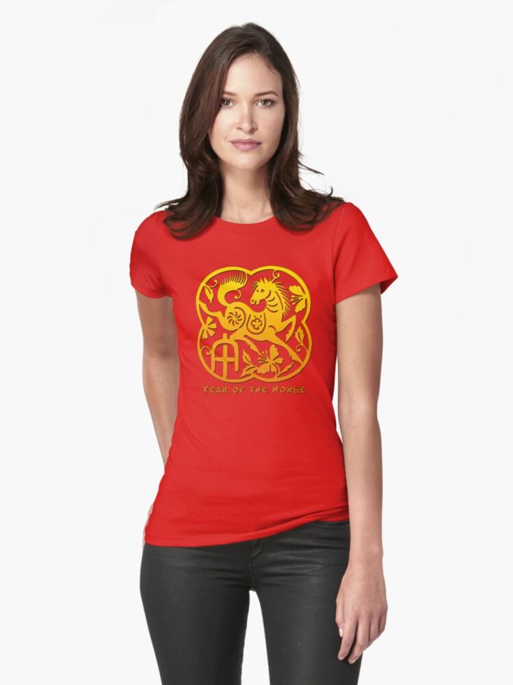 Chinese Year of The Horse Papercut Design by ChineseZodiac