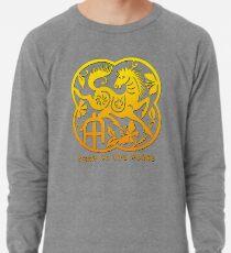 Chinese Year of The Horse Papercut Design Lightweight Sweatshirt
