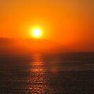 Red and Yellow Sunset - Puesta del Sol en Rojo y Amarillo by PtoVallartaMex