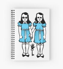 Hell Sisters Spiral Notebook