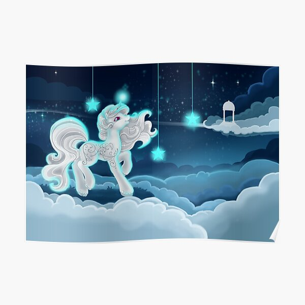 Stars & Clouds Poster