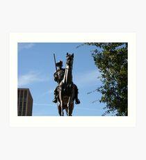 """ Texas Ranger""  Art Print"