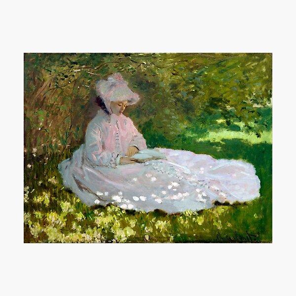 Springtime - Claude Monet - 1872 Photographic Print