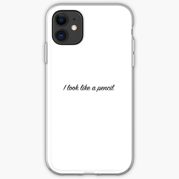 """I look like a pencil"" Fleabag iPhone Soft Case"