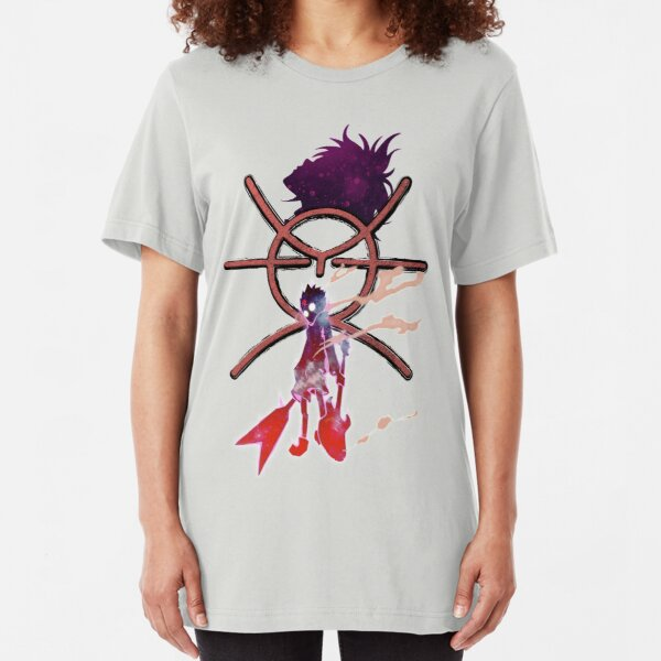 FLCL - Naota/Atomsk Slim Fit T-Shirt