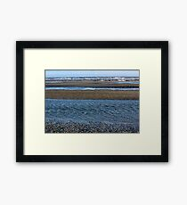 Tidal Ripples Framed Print