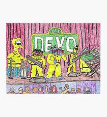 Devo Sesame Street Photographic Print