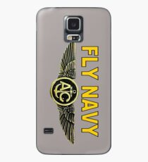 Navy Aircrew Wings for Dark Colors Case/Skin for Samsung Galaxy
