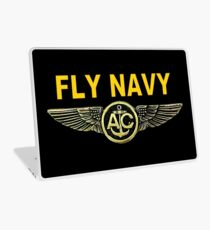 Navy Aircrew Wings for Dark Colors Laptop Skin