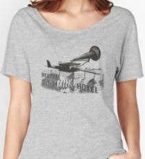 in the aeroplane over the sea Women's Relaxed Fit T-Shirt