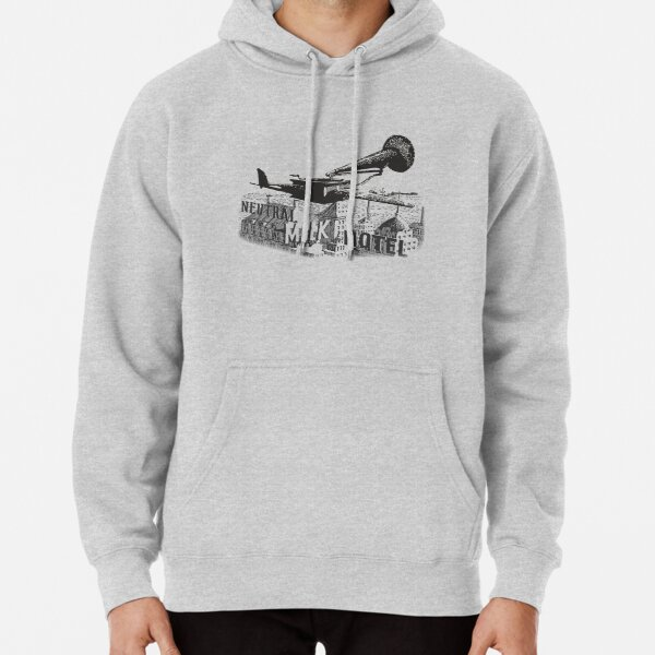in the aeroplane over the sea Pullover Hoodie