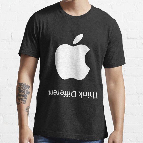 Apple - Piensa diferente (negro) Camiseta esencial