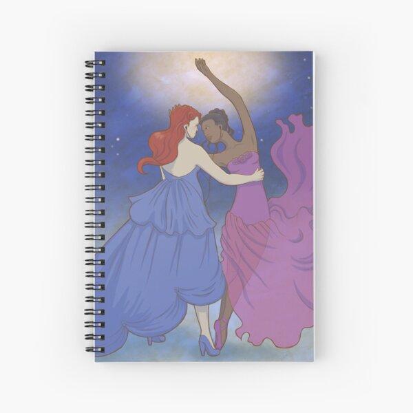 Dancing girls Spiral Notebook