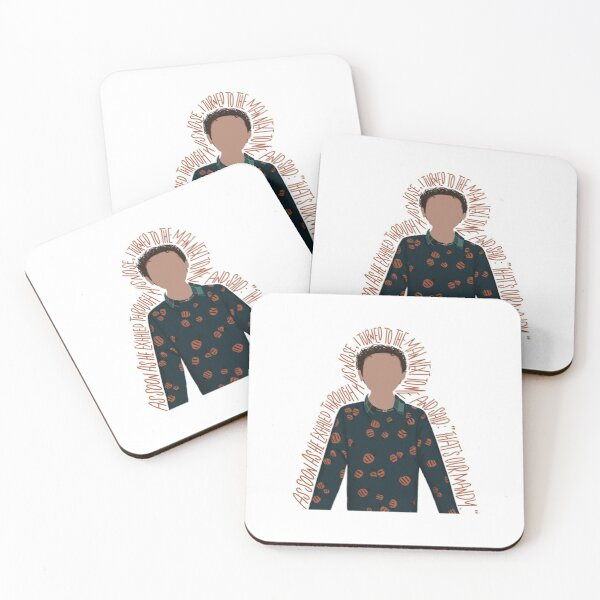 Jacob - Sack Lunch Bunch Coasters (Set of 4)