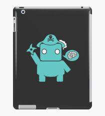 Ninja, Pirate, Robot, Zombie   Cute Geek Character iPad Case/Skin