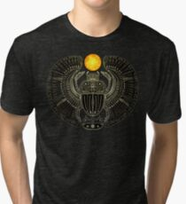 Sacred Scarab (v2) Tri-blend T-Shirt