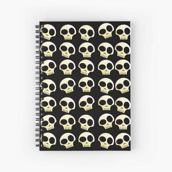 Skulls!!! Spiral Notebook
