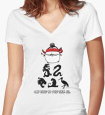 One Style To Rule Them All v.4 Women's Fitted V-Neck T-Shirt