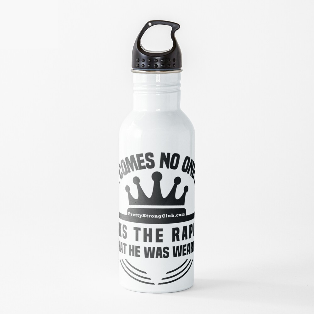 What Was The Rapist Wearing Water Bottle