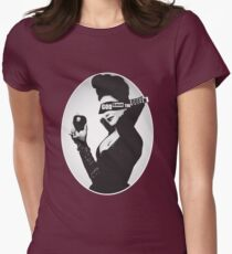 God Save the (Evil) Queen Women's Fitted T-Shirt