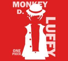 Supernova Monkey D. Luffy Vector WHITE