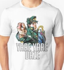 Jotaro Kujo YARE YARE DAZE T-Shirt Unisex T-Shirt