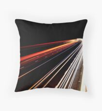 Midnight Traffic Throw Pillow