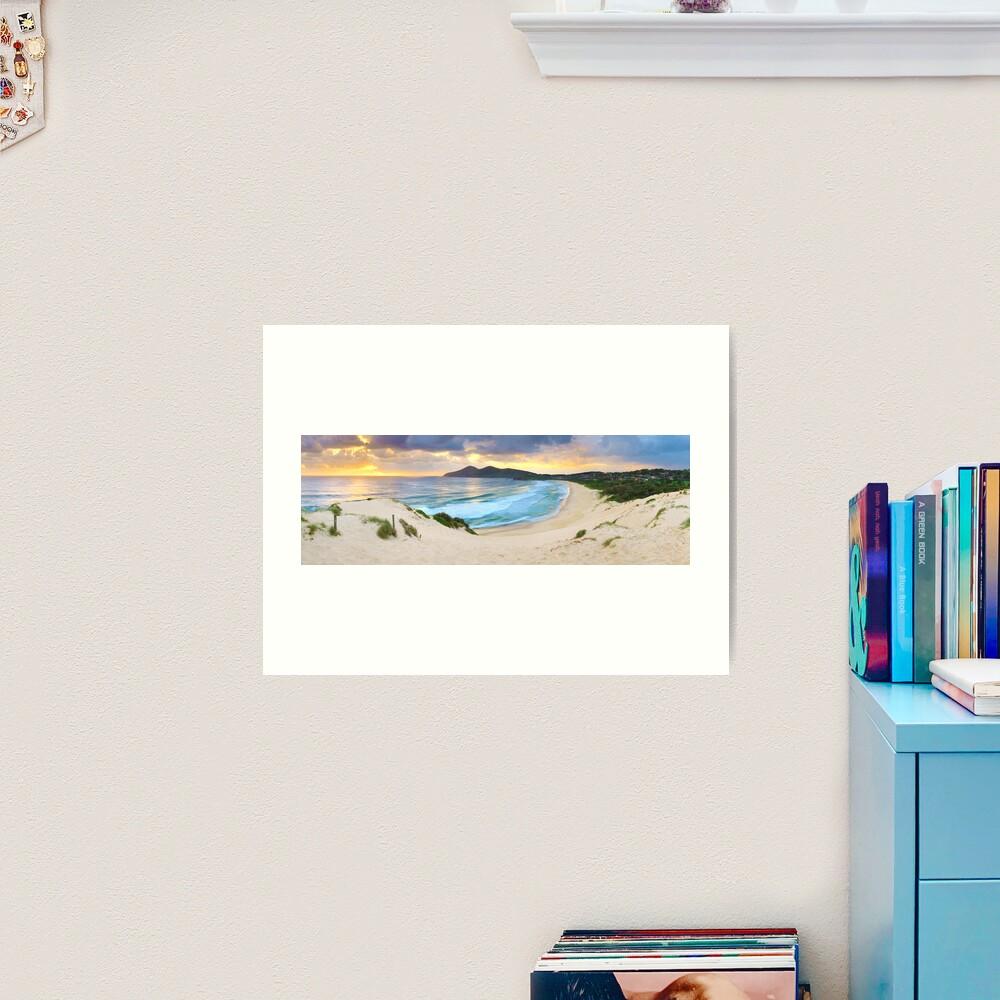 Forster Beach, New South Wales, Australia Art Print