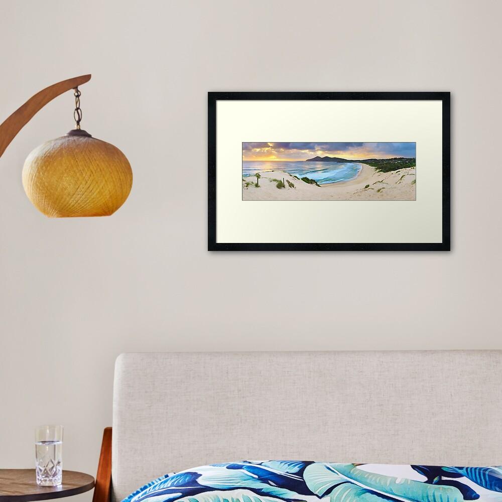 Forster Beach, New South Wales, Australia Framed Art Print